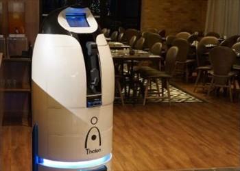 imagen y foto del robot mayordomo Thalon de Millenium BPO