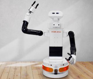 Robot Tiago de Pal Robotics es un robot semi humanoide inteligente para el hogar, hoteles y robótica social