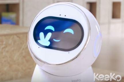 El robot mayordomo Keeko es un robot educativo