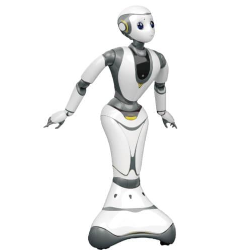 Robot social XR-1 humanoide de CloudMind con Inteligencia Artificial