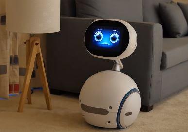 robot Zenbo de Asus es un robot mayordomo para el hogar
