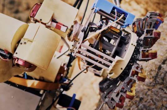 La NASA ha desarrollado un Robot escalador