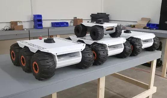 El robot explorador M6 UGV que puede desplazarse por cualquier superficie