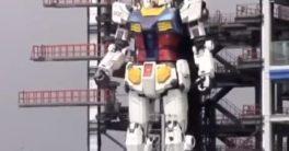 Gundam Global Challenge, el robot diseñado en Japón que es una réplica de los robots de Anime