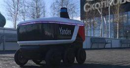El nuevo repartidor de comida o mensajería se llama Rover Yandex