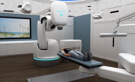 CyberKnife, utiliza el robot de Kuka para tratar tumores con precisión