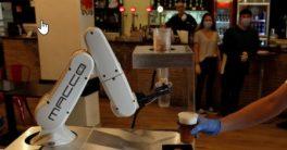 Por un precio que ronda los 20.000 € puedes tener un robot colaborativo camarero
